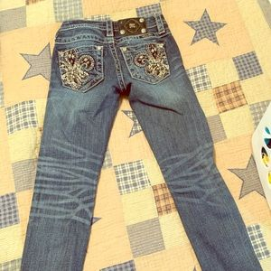 Miss Me brand girls jeans